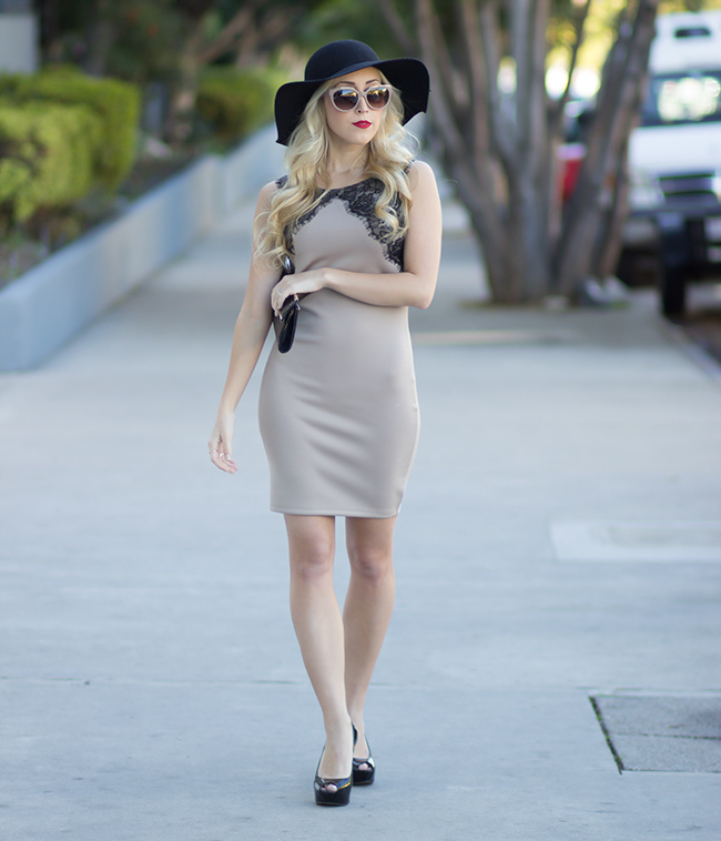 Dress: Forever 21 // Sunglasses: Balenciaga