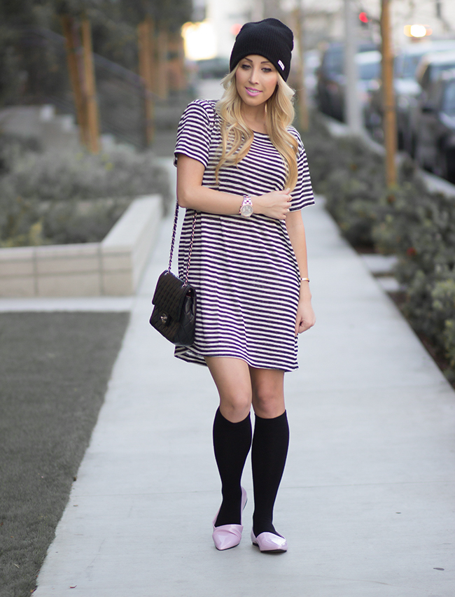 T-Shirt Dress & Shoes: Forever 21