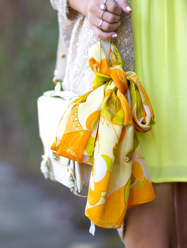 Orange & Yellow Scarf: The Scarf Shop