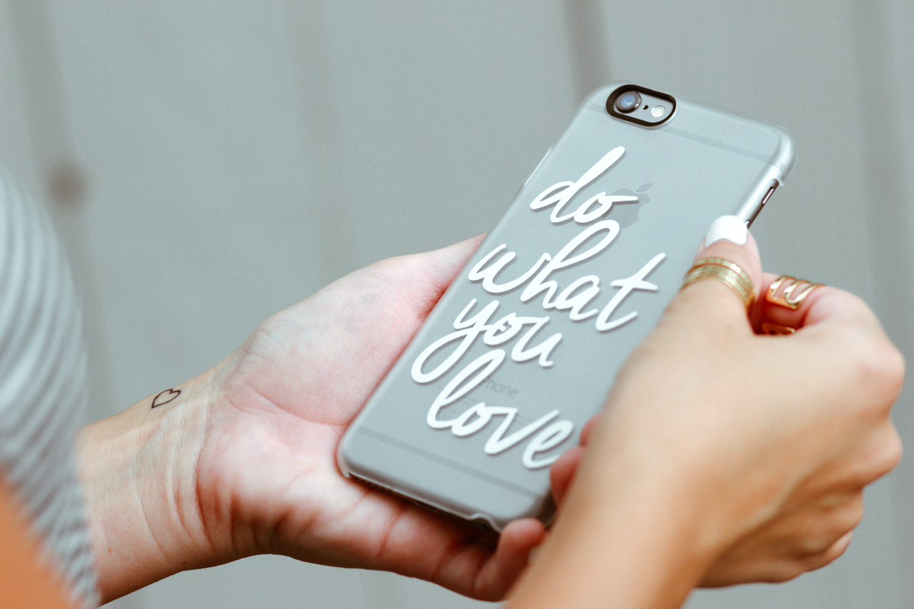 Do What You Love from casetify.com ( code: BF6X5E for 10% of) | StyledByBlondie.com