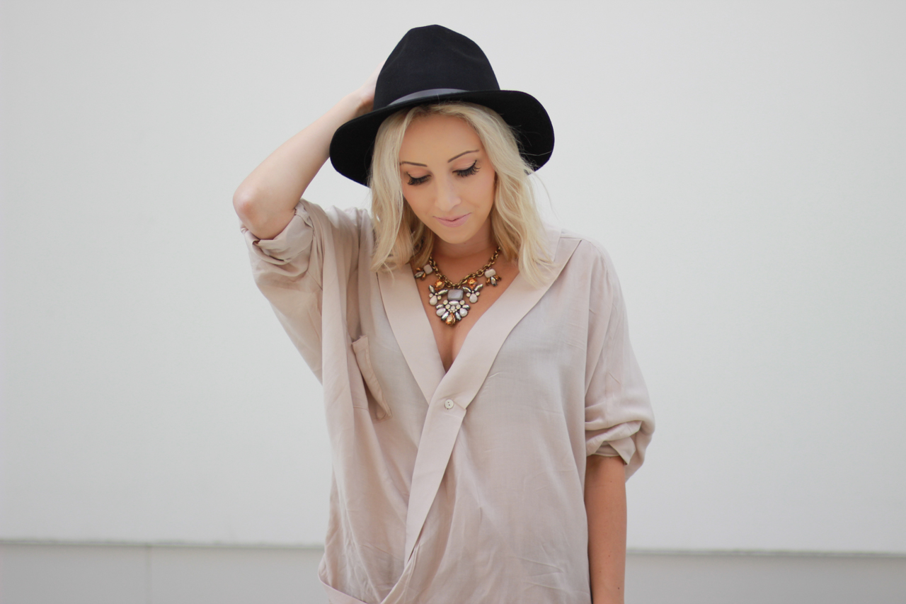 Hat: Forever 21 | StyledByBlondie.com