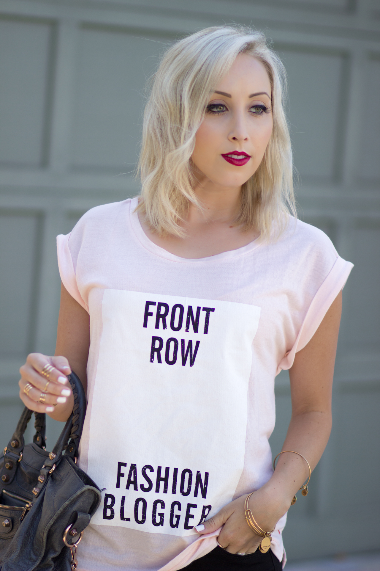 """Front Row Fashion Blogger"" from @CastroFashion 