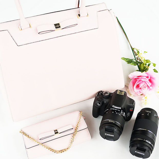 Kate Spade & Canon Rebel Giveaway | StyledbyBlondie.com