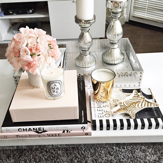 Coffee Table Decor | StyledbyBlondie.com
