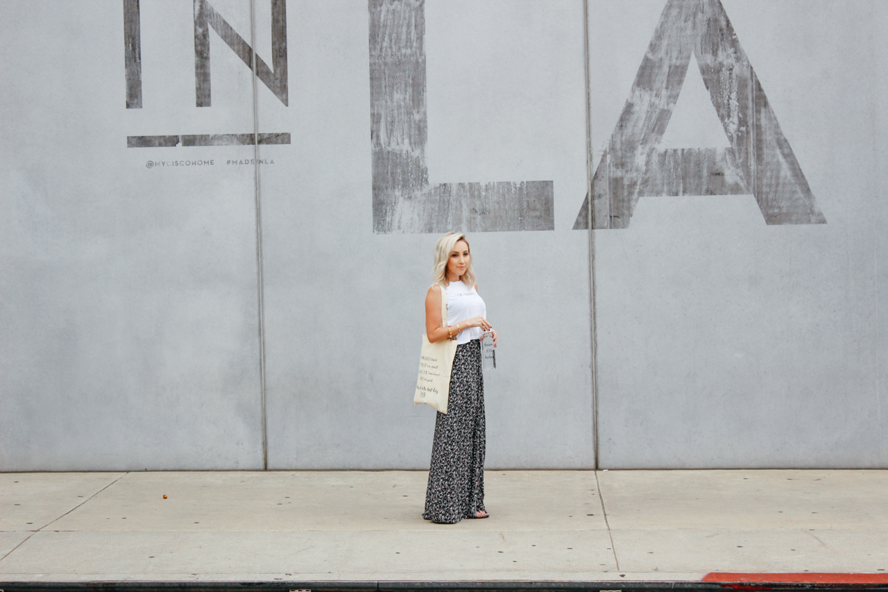 High Waisted Maxi Skirt | StyledByBlondie.com