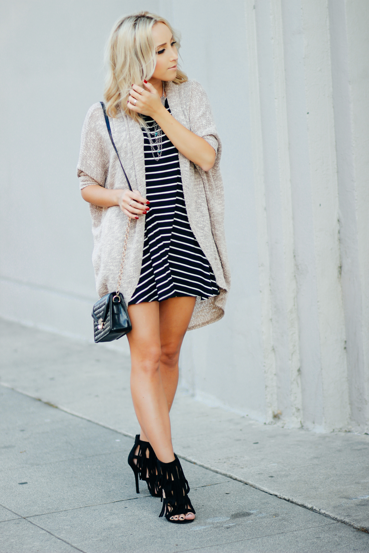 Striped Baby Doll Dress | StyledbyBlondie.com
