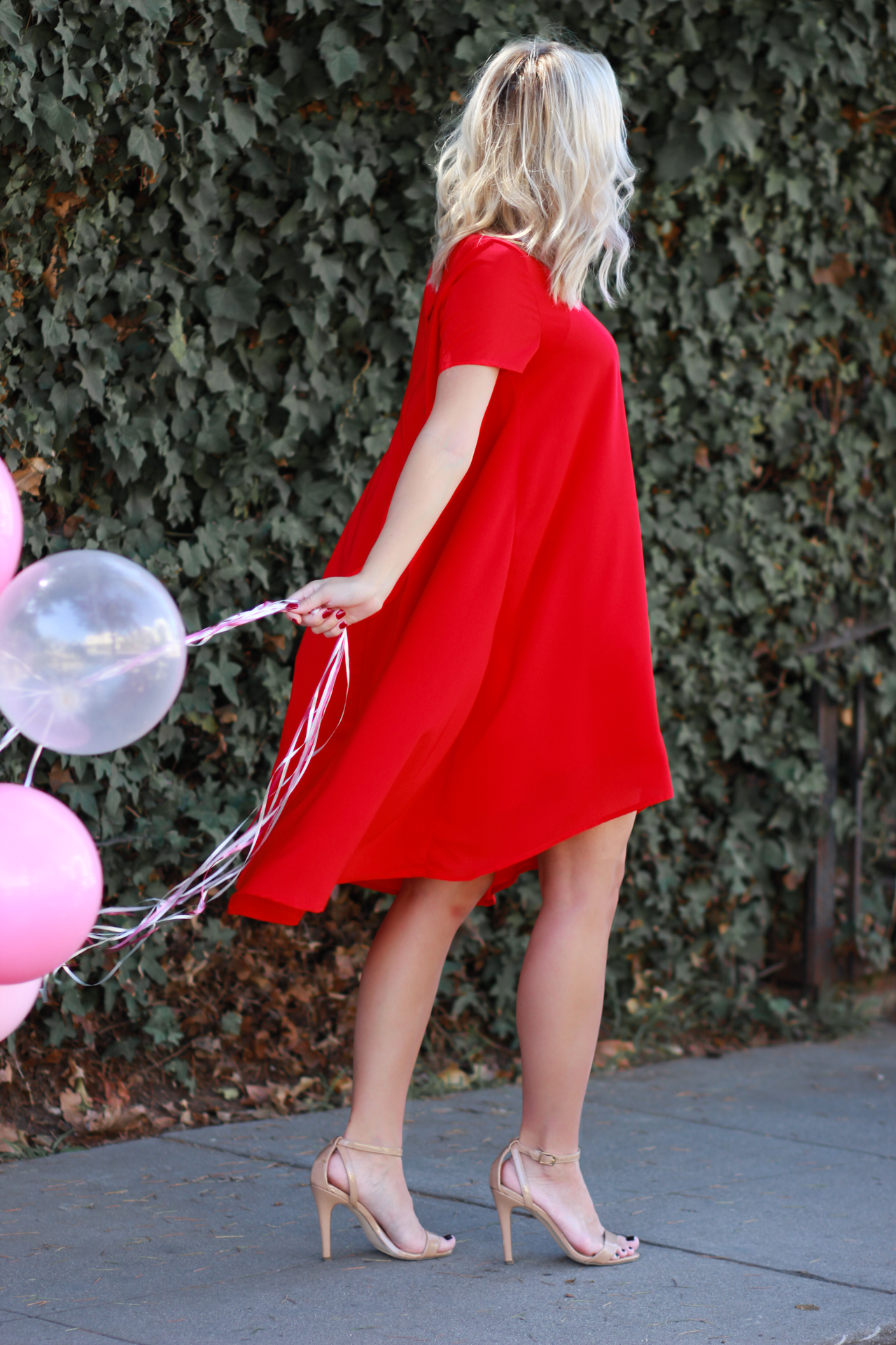 Red Dress | StyledByBlondie.com