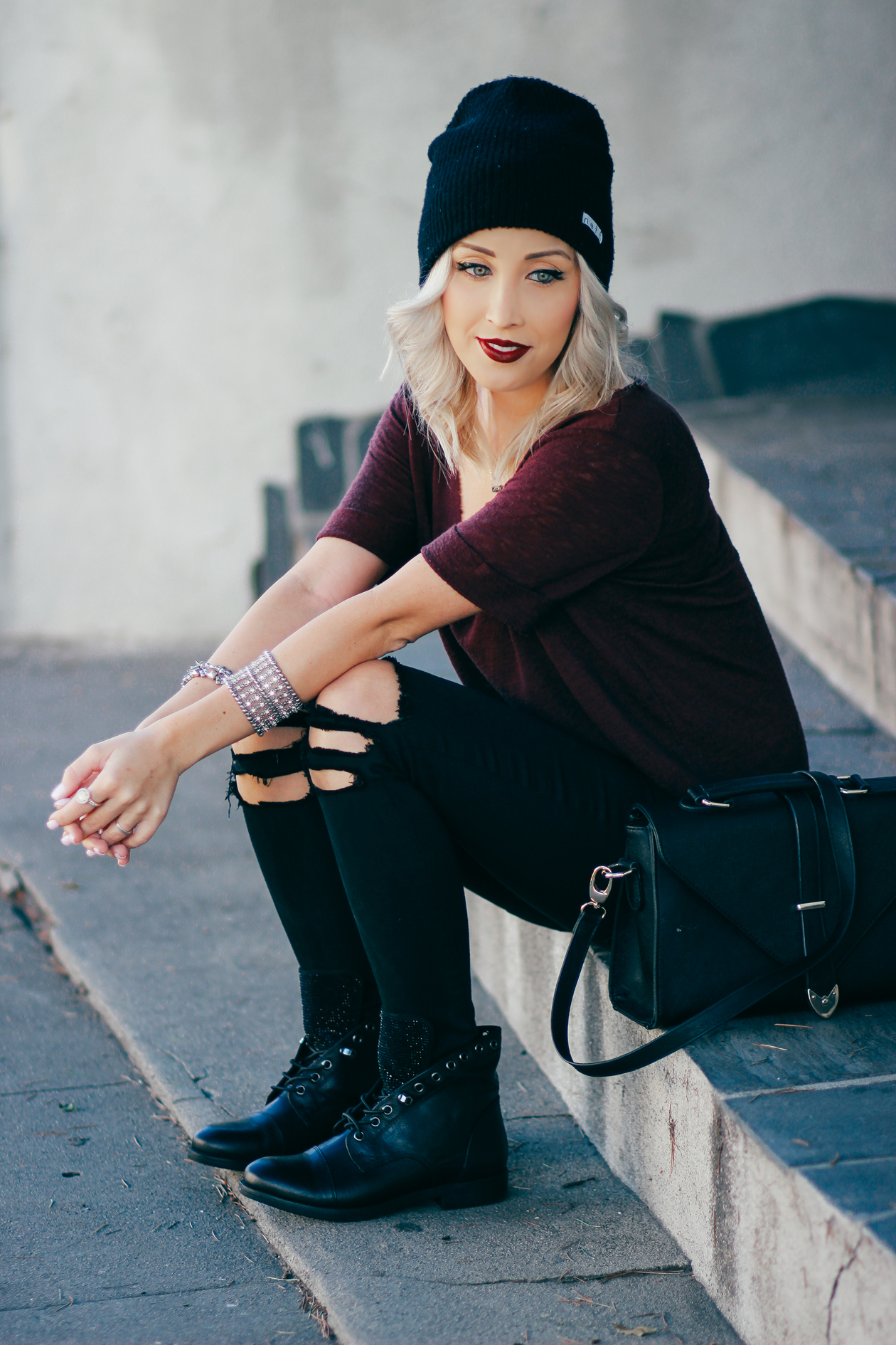Black Booties from @YellowBox | StyledByBlondie.com