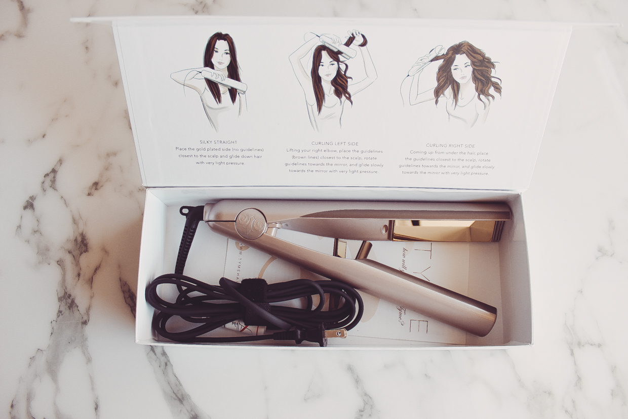 Blondie in the City | How To Use The TYME Iron | The All-In-One Iron That Curls AND Straightens Your Hair! | @tyme_style