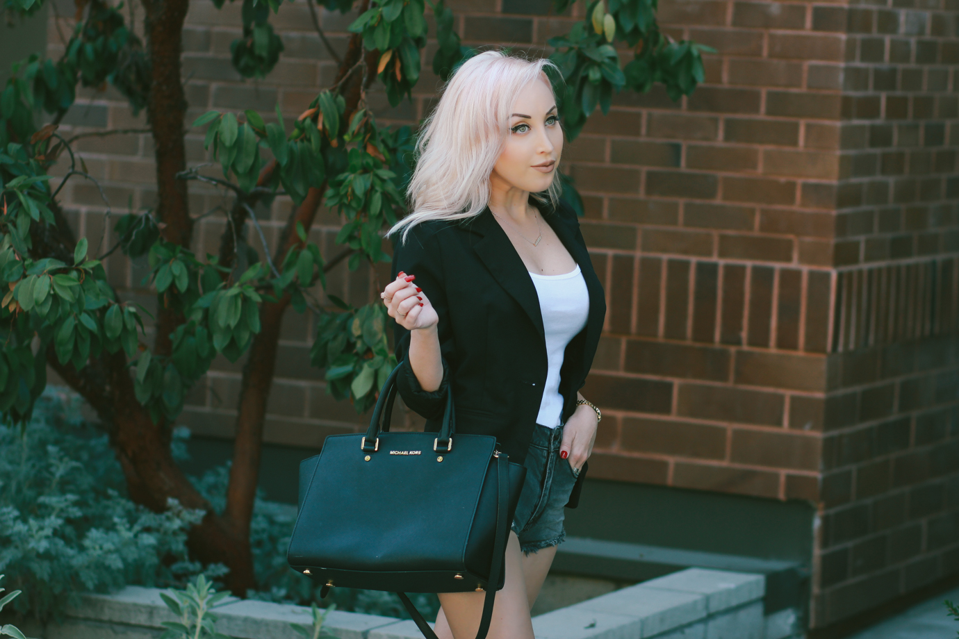 Blondie in the City | How To Style A Blazer | Street Style