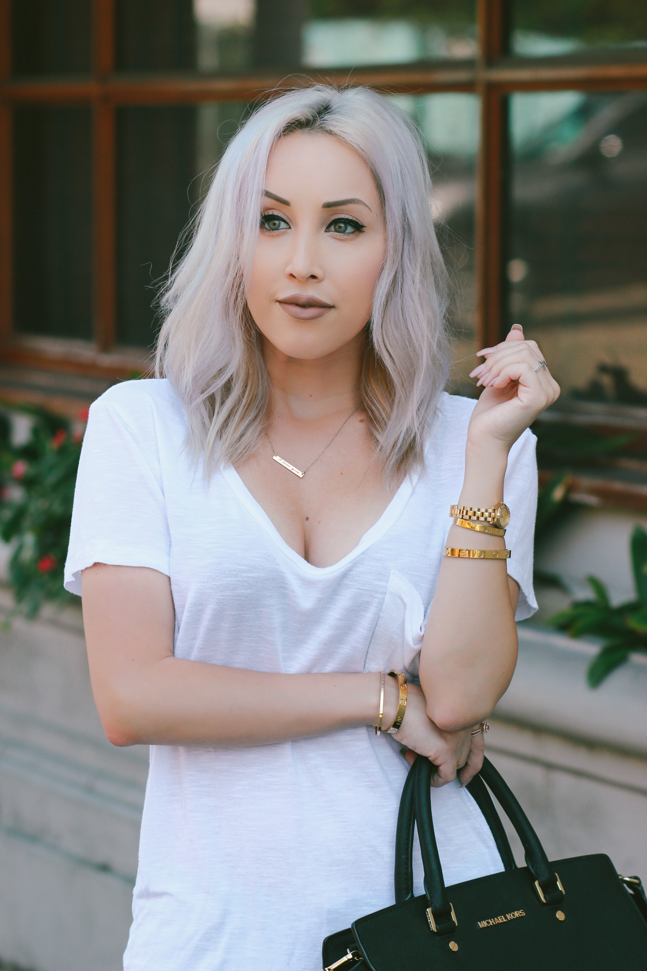 Blondie in the City | The BEST Simple White Tee for only $8! | Casual, Everyday Wear