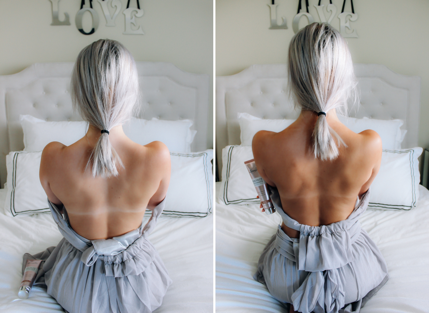 Blondie in the City | The Perfect Summer Glow with @lovingtan | Before & After