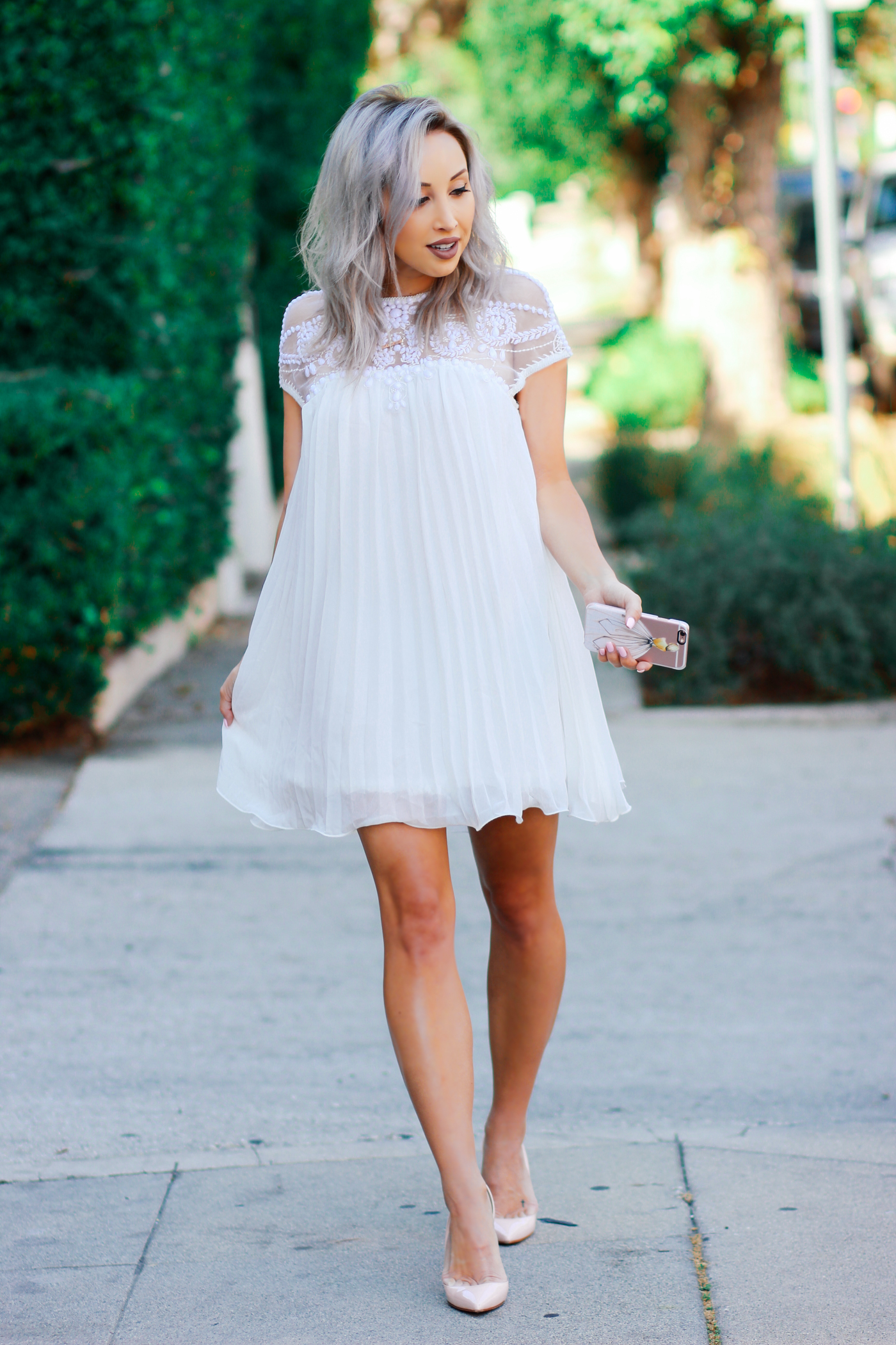 The 5 white dresses that are perfect for your bridal shower for Dress for wedding shower