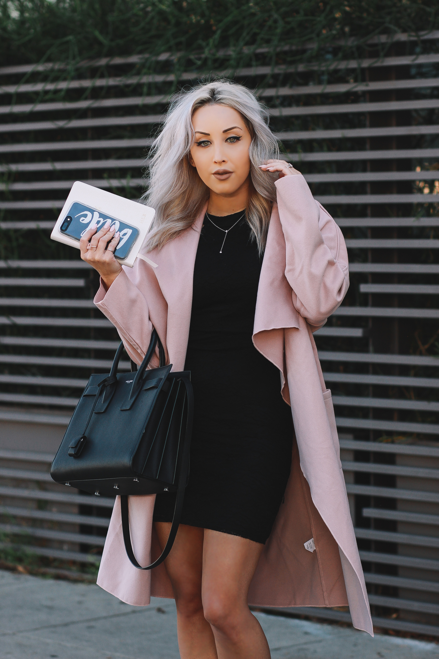 Blondie in the City | Busy Bride | Beverly Hills Street Style | #BusyBride Notebook | Bride iPhone Case @casetify