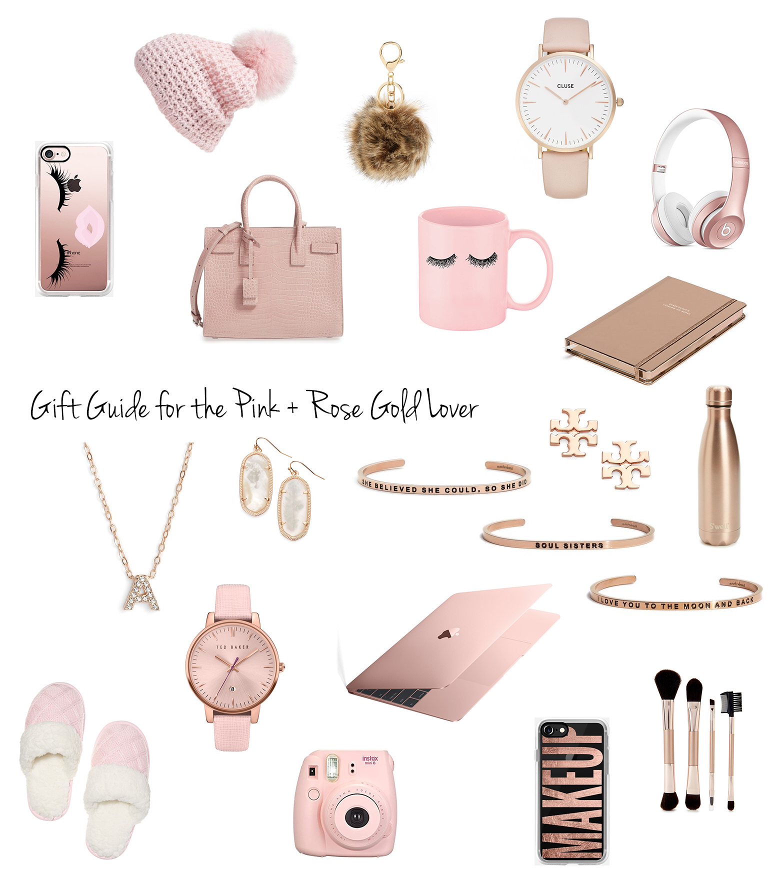 Blondie in the City | Gift Guide For The Pink + Rose Gold Lover | Holiday Gift Guide | Rose Gold Gifts