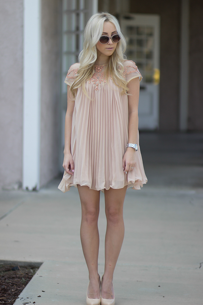 Babydoll Dress Blondie In The City