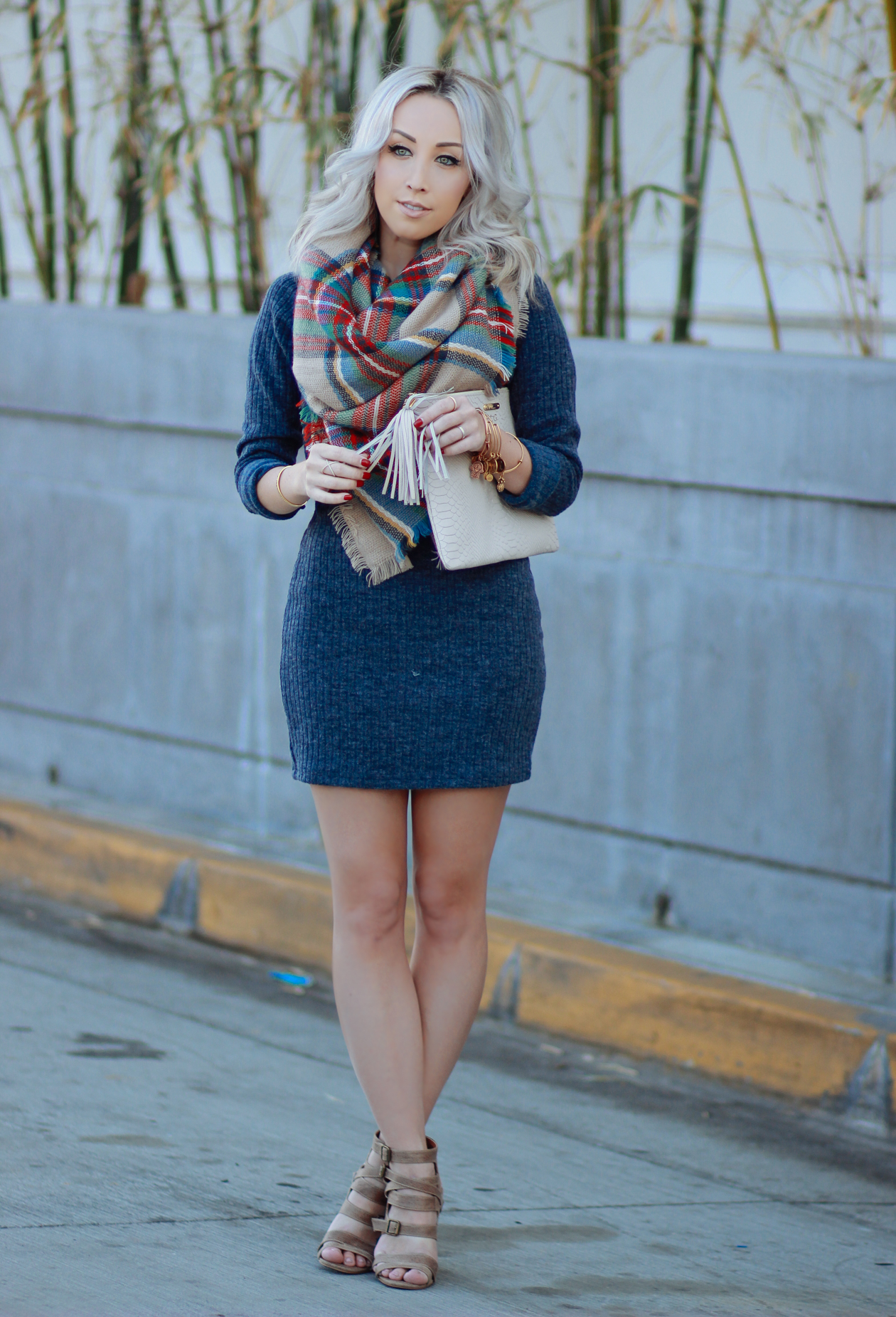 Sweater Dress Scarf
