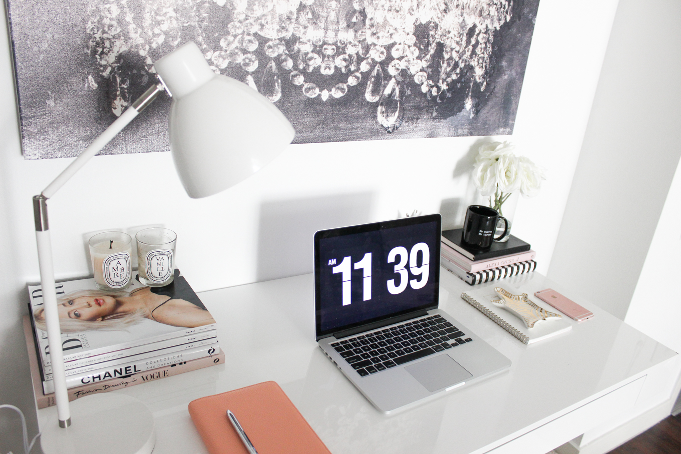 Pleasing A Second Way To Style My Office Area Blondie In The City Beutiful Home Inspiration Aditmahrainfo