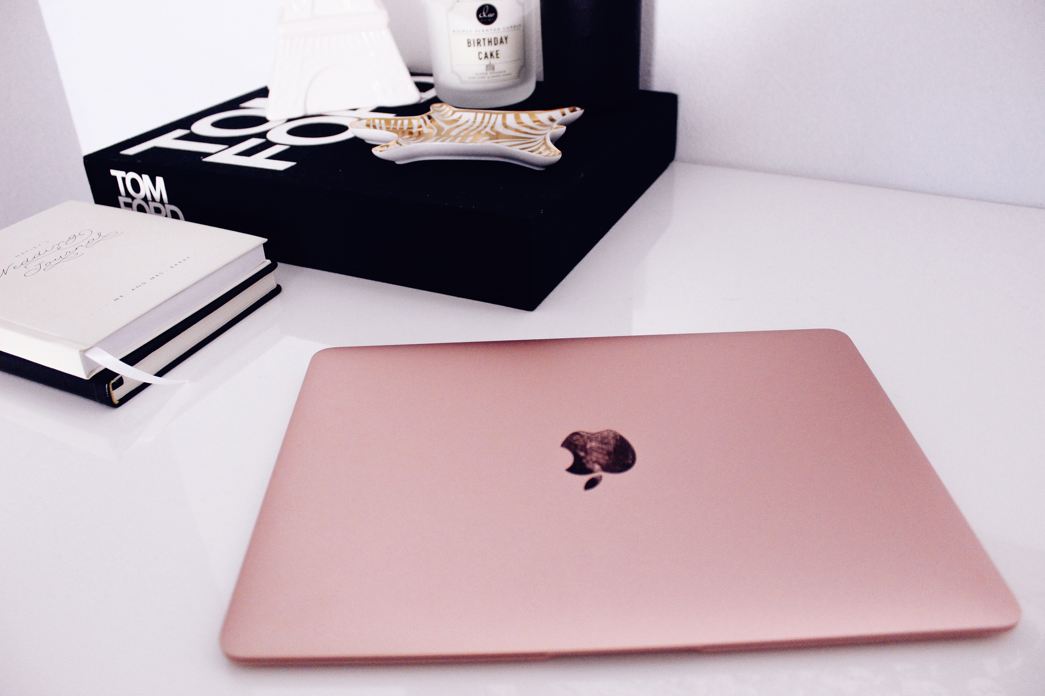 The Rose Gold Macbook