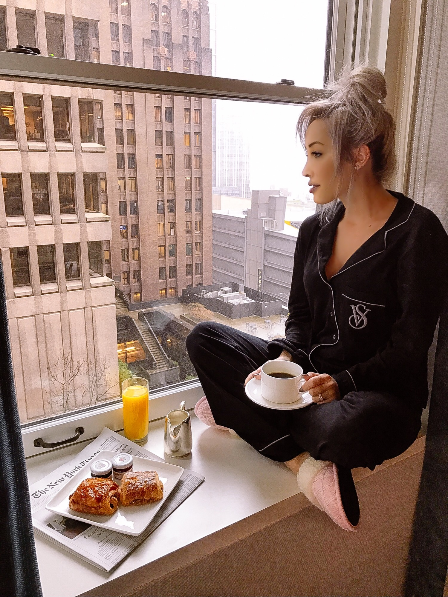 Room Service: Breakfast At The Fairmont Olympic Hotel